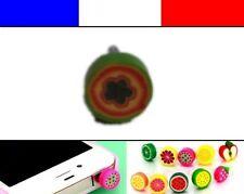 Cache anti-poussière jack universel iphone protection capuchon bouchon FRUIT 6