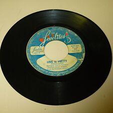NORTHERN SOL 45RPM RECORD - THE LOVELITES - LOVELITE 02