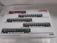 """Märklin H0 42980 Interzonen-car Express Train Set Y/b 70 """" Novelty 2016"""""""