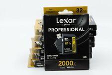 32GB Lexar SD SDHC UHS-II  2000X 300MB/S 4K