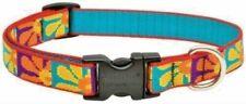 "Lupine Lifetime Dog Leash or Collar -3/4"" - U Pick - CRAZY DAISY"