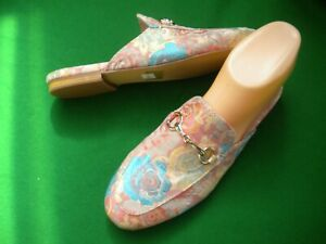 LADIES  NEW  MOLLINI MULTI COLOUR SLIP ON FLAT  HEEL SHOES SIZE 5/36
