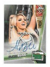 Alexa Bliss 2019 WWE Money In The Bank AUTO 108/199