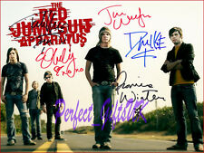 THE RED JUMPSUIT APPARATUS RONNIE WINTER SIGNED AUTOGRAPHED 10X8 PP REPRO PHOTO