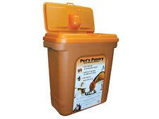 GRANDE PER CANE GATTO ANIMALE 25kg alimenti secchi Container di immagazzinamento Scatola Cestino
