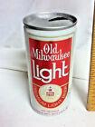 "Old Milwaukee premium light aluminum pull tab beer can 12 oz. 5.25"" Schlitz AW2"