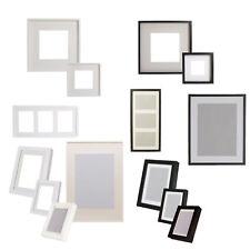 """IKEA Passepartout-Bilderrahmen """"RIBBA"""" in Schwarz oder Weiß, verschiedene Größen"""