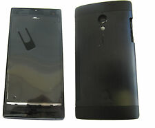 Hosuing Middle Chassis Back Battery Cover For Sony Xperia Acro S LT26w Black