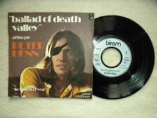 "45T 7"" PETER HENN ""Ballad Of Death Valley"" BIRAM 6109 027 FRANCE §"