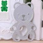 Cute Bear Cutting Dies Stencil Scrapbook Paper Card Embossing Decorative Decor