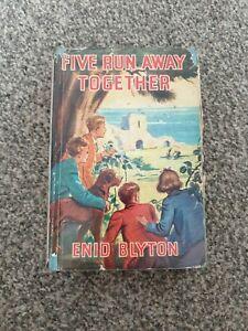 Famous Five - Enid Blyton - Five Run Away Together - Hardback - 1949 - 1st - 3rd