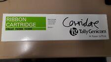 TALLY GENICOM BLACK RIBBON CARTRIDGE FOR TALLY PRINTERS T2265. T2280 NEW IN PACK