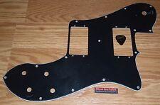 Squier Telecaster Pickguard Vintage Modified Deluxe 3Ply Black Guitar Parts Tele
