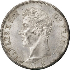 Monnaies, Charles X, 5 Francs, 1825 W Lille, KM 720.13 #81176
