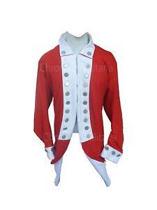 Revolutionary war marine regimental coat 18th century coat