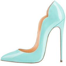 Abendclub Elegant High Heels Damen Lackleder Sexy Stilettos Hoher Pumps Gr.34-43