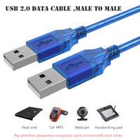 USB 2.0-Stecker / Stecker-Datenkabel für HDD Laptop TV Box Kühlerlautsprecher DE