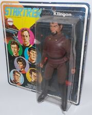 STAR TREK :  VINTAGE CARDED KLINGON ACTION FIGURE MADE IN  1974 BY MEGO