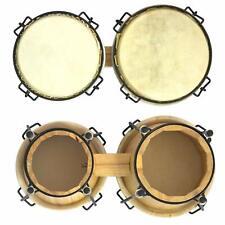 World Rhythm BON7-BG Tambores Bongo con Bolsa Acolchada Bongos unvollständig