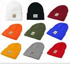 Men's Carhartt Acrylic Watch Hat Winter Beanie Knit Cap Women Warm Stocking Hat
