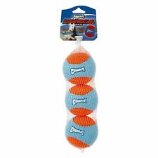NEW Chuckit Amphibious Dog Balls Fetch Play Perfect for Land or Water 3 Pack