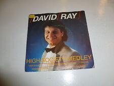 "DAVID RAY - High Society Medley - 1987 Dutch 2-track 7"" Juke Box Vinyl Single"