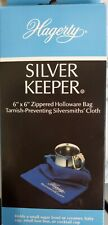 """Hagerty Silver Keeper: 6"""" x 6"""" Zippered Bag"""