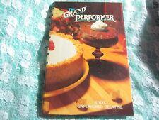 Vintage HC The Grand Performer Knox Gelatine Cookbook, Spiral