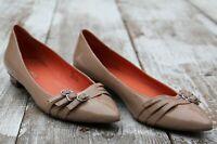 VIA SPIGA Women's Size 8.5 Tan Beige Ballet Flats Shoes