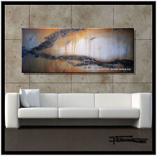 PAINTING Abstract Modern Large Canvas WALL ART Framed Signed USA ELOISExxx