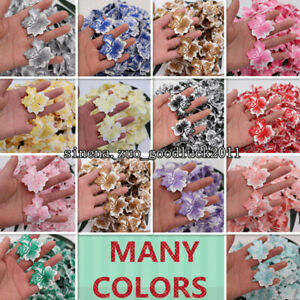 1 Yard Cotton Lace Embroidered Leaf Trim Clothes Sewing Appliques Craft HB19