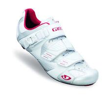 GIRO Rennradschuh Factor weiß mit Vollcarbonsohle ultraleicht Neu & OVP