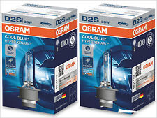 2x NEW OSRAM COOL BLUE HYPER D2S 66240 CBH 6000K HID XENON HEADLIGHTS GERMANY
