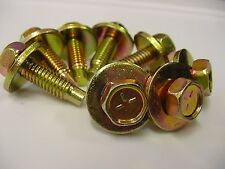 8x High Quality Ford Bench & Bucket Hex Head Seat Bolts 5/16''-18 x 1-1/16'' NOS