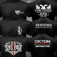 New Systema Spetsnaz Russian Army Martial Art Hand to Hand Combat T-shirt