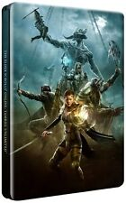 The Elder Scrolls Online Tamriel Unlimited Steelbook Case PS4 & Xbox One * NEW *