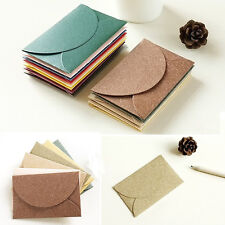 High 12 Pcs Pearlescent Paper Mini Envelope Vintage Fashion Craft Creative Hot E