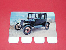 N°99 FORD 1919 PLAQUE METAL COOP 1964 AUTOMOBILE A TRAVERS AGES