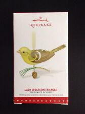 Hallmark Keepsake 2015 Limited LADY WESTERN TANAGER The Beauty of Birds NIB