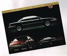 1995 Chrysler CONCORDE Data Sheet (brochure) with Options