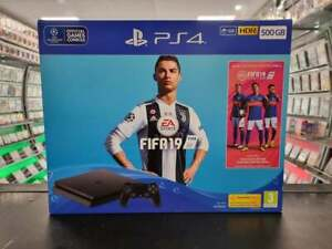 PlayStation 4 Slim 500GB Console - Black [Boxed] - FAST DELIVERY