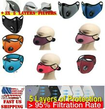 Ultra Comfort Summer Cooling Mesh Mask With 3 Filters, Same Day USA Shipping