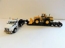 "FIRST GEAR KOMATSU TRI-AXLE KENWORTH T880 w/ TALBERT LOWBOY 1/50 ""NEW IN BOX"""