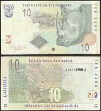 SOUTH AFRICA - 10 rand 2005 P# 128b banknote - Edelweiss Coins .