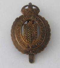 British Military Badge Westmorland and Cumberland Yeomanry (Ref L437)