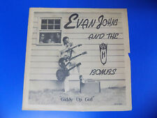 """1980 Rockabilly 10"""" """"Giddy Up Girl"""" EVAN JOHNS & The H-Bombs Deco 0001 HTF"""