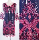 1920's Vintage Dress Gatsby Party Clubwear Red Sequin Art Nouveau AF 3290