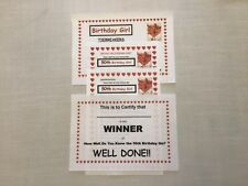 Who Knows 50th Birthday Girl Best Quiz 20 Sheets Tiebreakers Winners Cert