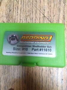 Redding competition shell holder set #10 223 rem  #11610