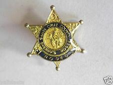POLICE USA : PINS SHERIFF / SANTA CRUZ COUNTY / SHERIFF'S POSSE RODEO